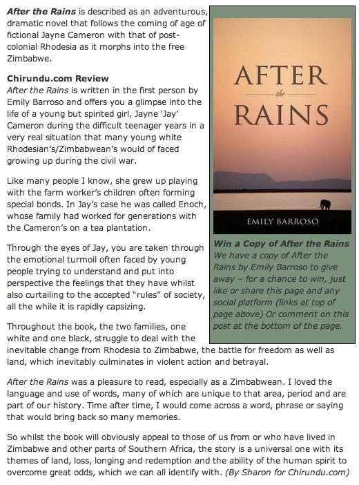 chirundu atr review
